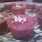 Muffin all' arancia senza lattosio e..finalmente neve!!!