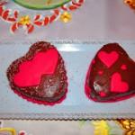 Tortine cioccolato e zenzero e lamponi…e buon lunedì!!