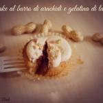 Cupcake al burro di arachidi e gelatina di lamponi