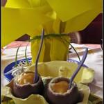 Uova alla coque..al cioccolato!