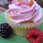 Cupcake al frutto della passione senza lattosio