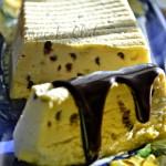 Semifreddo con pistacchio e cioccolato