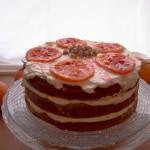 Naked Cake alla ricotta e arancia
