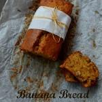Banana Bread senza lattosio con noci e mirtilli