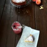 Torta Yogurt con pesche senza lattosio