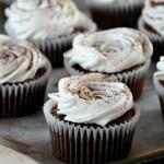 Cupcake alle nocciole e meringa senza lattosio e glutine