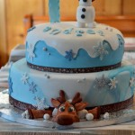 Torta Frozen – Olaf e Sven