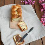 Pan brioche con cioccolato senza lattosio