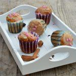 Muffin speziati con glassa allo sciroppo d'acero per lo #scambioricette