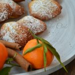 Madeleines al mandarino e cannella senza lattosio